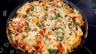 #готовить #узбечка # Обед # Ужин Картофельная запеканка с курицей