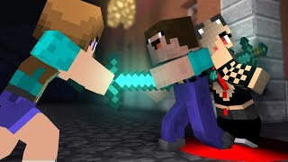 Minecraft NOOB Girl vs NOOB Boy | Noob love Noob girl ( 2 ) - Minecraft Animation