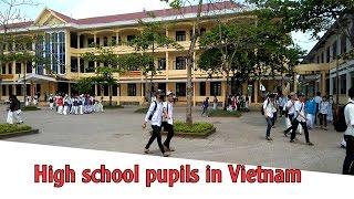 High school pupils in Vietnam | Travel In Vietnam