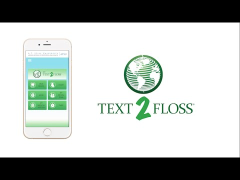Text-2-Floss Reminder App For IOS And Android In English And العربية
