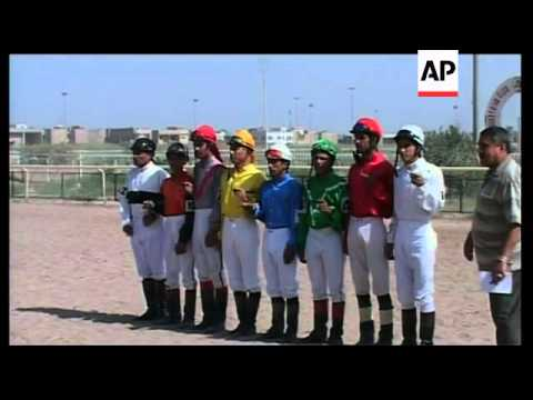 Diehard horse racing fans keep the sport alive in Iraq