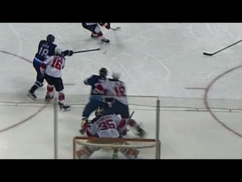 Laine gets a piece of puck to give Jets lead over Devils
