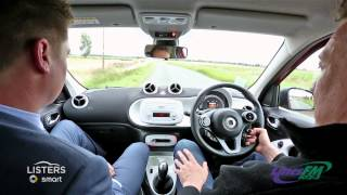 Lincs FM Test Drive - smart Forfour Passion with John Marshall