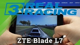 Test Real Racing on ZTE Blade L7 – Crashes / Drops Checkup