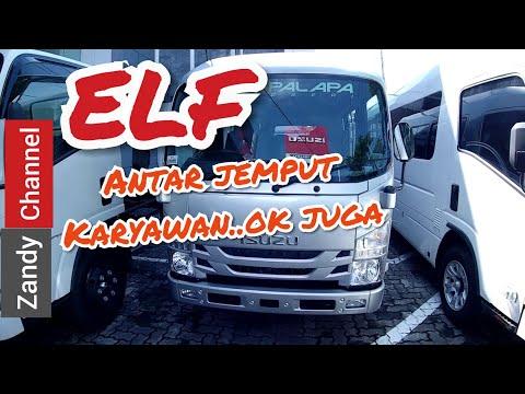 Review isuzu Elf microbus NLR 55 B