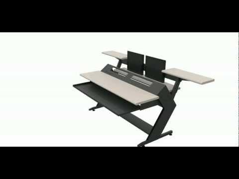 http://www.rack-desk.com/ Studio furniture - Home Studio Desk Kit
