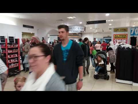 BHS's last day at Merry Hill