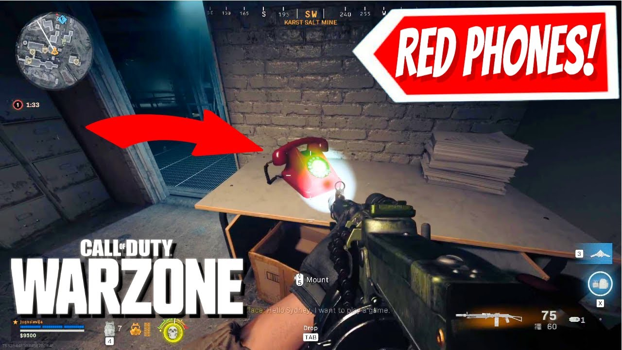 Download Call of Duty WARZONE: RED PHONES ARE RINGING IN VERDANSK (Easter Egg, Halloween Mode, & More)