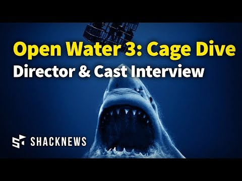 Open Water 3: Cage Dive Cast & Director Interview