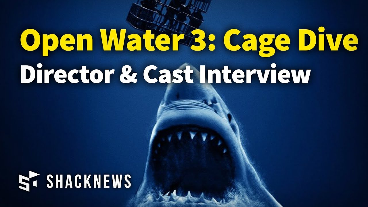 Open water 3 cage dive cast director interview youtube - Open water 3 cage dive ...