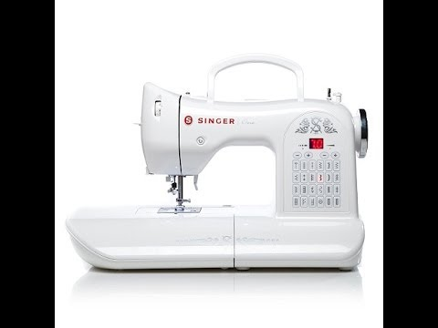 Singer One Electronic Sewing Machine YouTube Magnificent Singer Electronic Sewing Machine