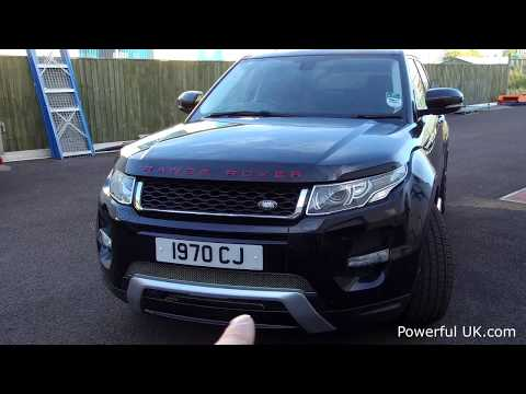 How to remove replace Range Rover Evoque bumper front tow eye cover