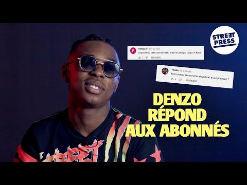 Youtube: L'interview G.A.V | Denzo répond aux abonnés