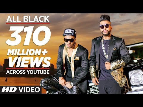 Thumbnail: All Black Full Song | Sukhe | Raftaar | New Video 2015 | T-Series