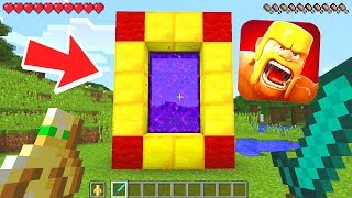 Minecraft : HOW TO MAKE THE CLASH OF CLANS PORTAL IN MINECRAFT! (Ps3/Xbox360/PS4/XboxOne/PE/MCPE)