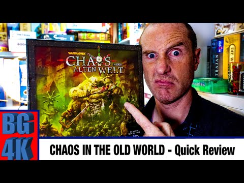 Chaos In The Old World - Boardgames 4K Review - Still Worth It?