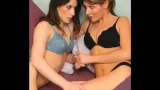 Hot Lesbians Making Out