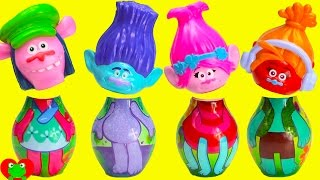 Trolls Bowling Pins Wrong Heads Poppy Branch Guy Diamond Surprises