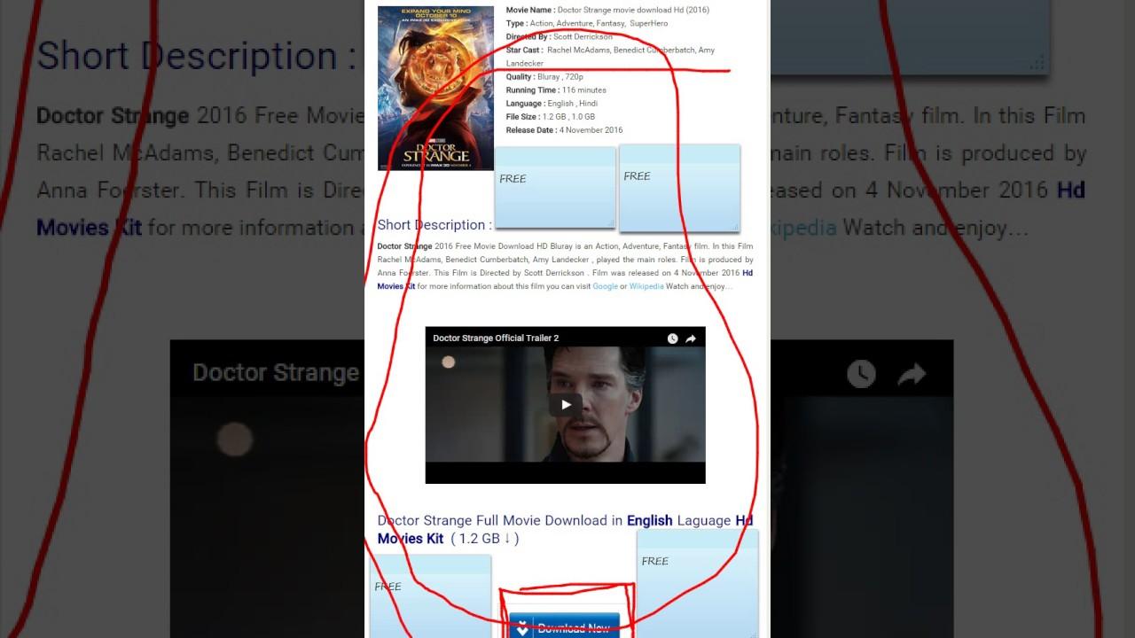 dr strange movie download in hindi 720p