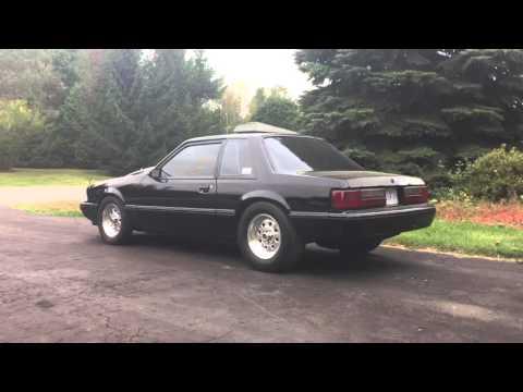 1989 Mustang Msd 6al2 2 Step Youtube