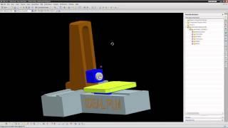 IDEAL PLM Имитация процессов обработки с использованием виртуальной модели станка