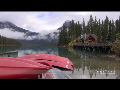 Emerald Lake Lodge, Britisch Columbia CANADA  エメラルド湖