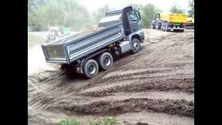 Démo camions tout-terrain Mercedes,Man,Daf,Iveco,Fendt