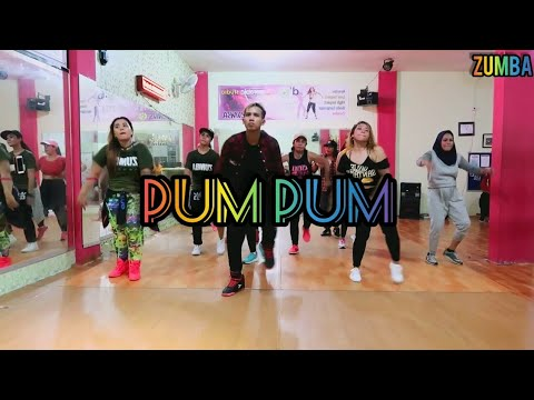 Messiah - Pum Pum ft Kap G  Play-N-Skillz ZUMBA  DANCE  FITNESS  At D&39;One Studio Balikpapan