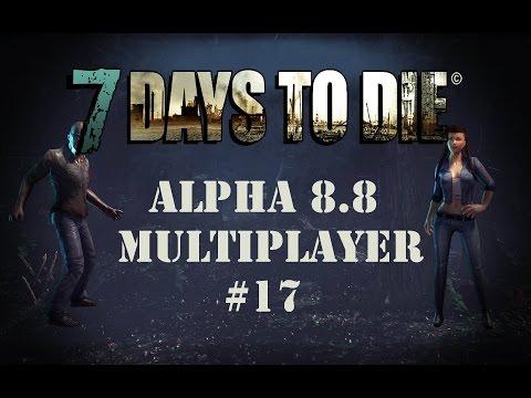 7 Days to Die Multiplayer - #17 - Der schwarze Block des Todes