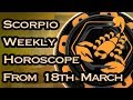 Scorpio Horoscope - Scorpio Weekly Horoscope From 18th March 2019 In Hindi   Preview