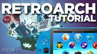 PS VITA | Instalar RetroArch All-In-One TODOS LOS EMULADORES | PSebitaYT
