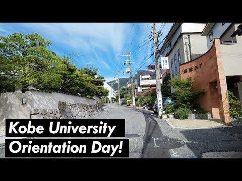 Kobe University Orientation Day! + Quick Dormitory Tour