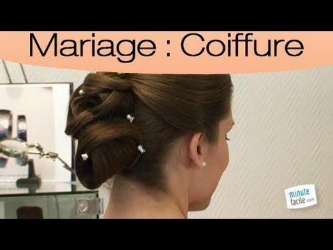 coiffure de mariage : les accessoires d'un chignon