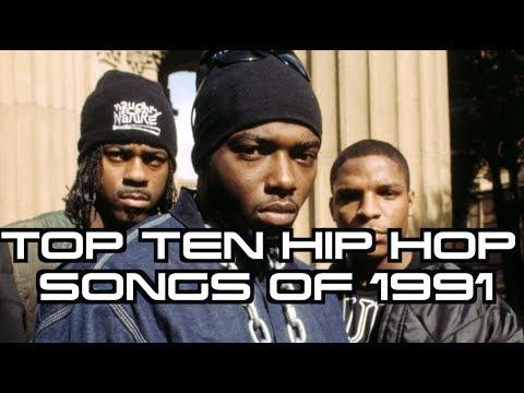 TOP TEN HIP HOP SONGS OF 1991