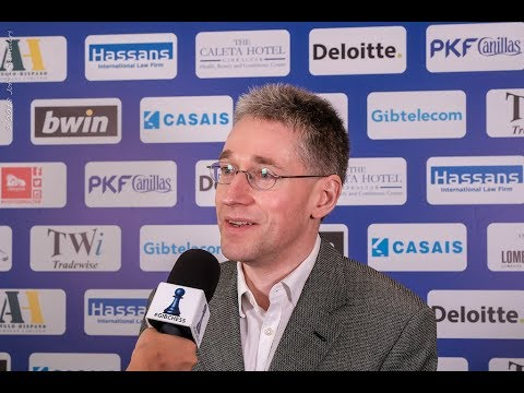 Round 10 Gibraltar Chess post-game interview with Michael Adams