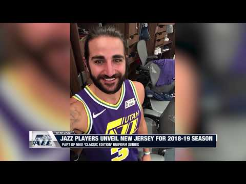 newest 36a88 c5a6a Utah Jazz Unveil Retro Jersey for 2018-19 Season - YouTube
