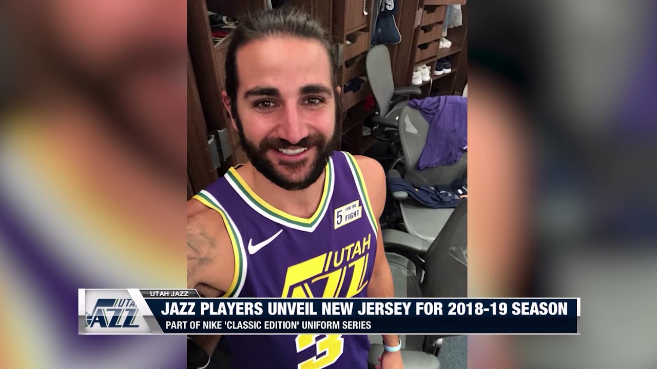 Utah Jazz Unveil Retro Jersey for 2018-19 Season - YouTube 87f188d71