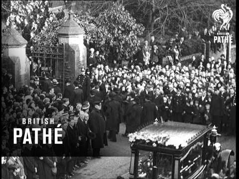 Llwynpai Colliery Disaster Aka Funeral Of Llwynfsia Pit Victim (1932)