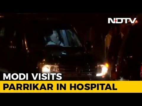 PM Meets Manohar Parrikar As Hospital Rubbishes Rumours About His Health