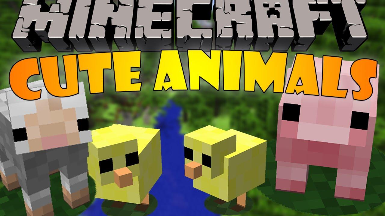 Cute animals mod - Baby Animals Minecraft Mod Showcase 1091 Cutest Animals Ever