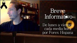 Breve Informativo - Noticias Forex del 21 de Septiembre 2018