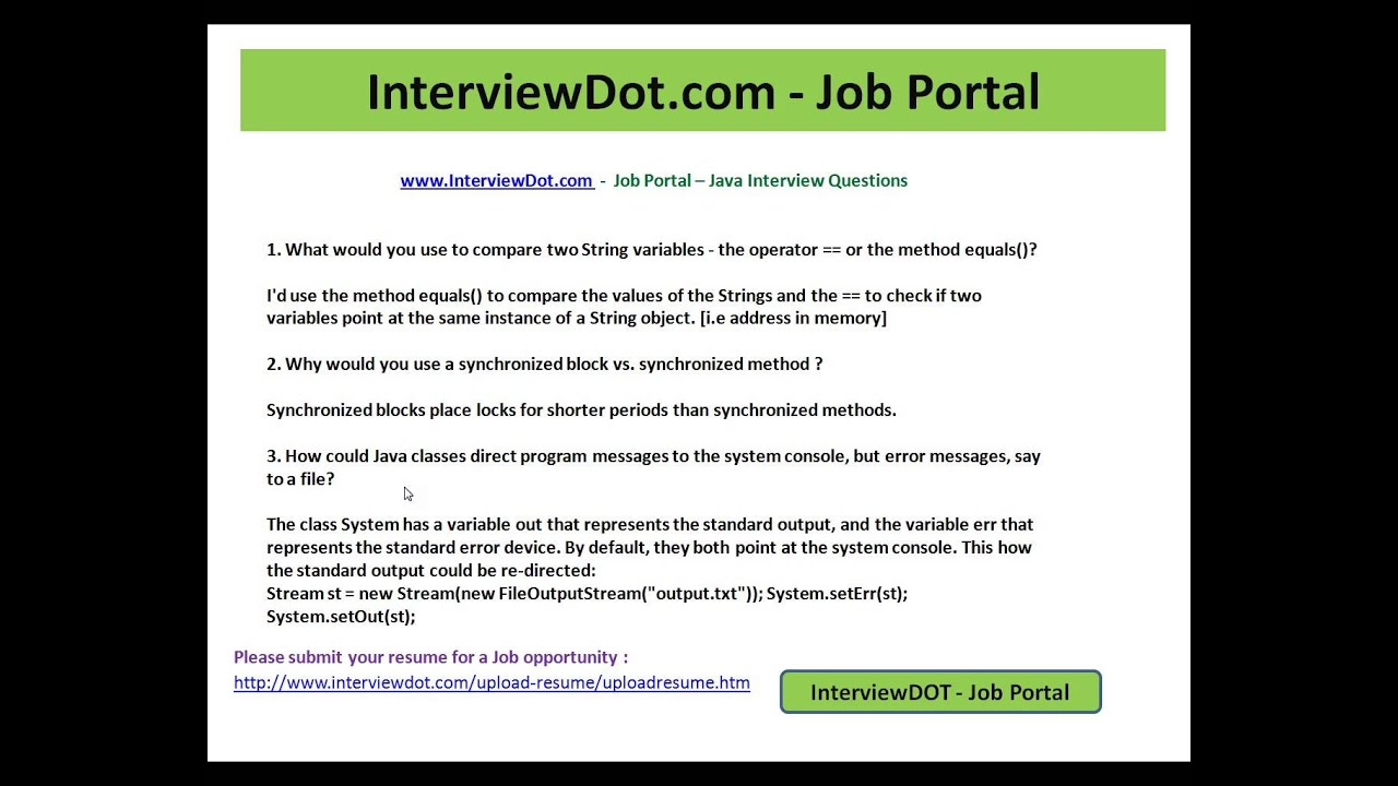 how to compare 2 string variables java interview questions how to compare 2 string variables java interview questions interviewdot