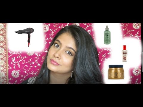 Tutorial#26/How To Blow Dry Your Hair And Products I Use!/#TutorialsAllDecemberWithLocaMiCo