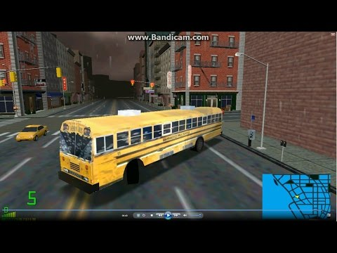 mm2 tour (1005) Blue Bird All American FE 12.4m Public school bus @ New York City 校車