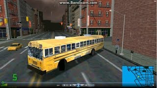 mm2 tour (1005) Blue Bird All American FE 12.4m Public school bus @ New York City 校車