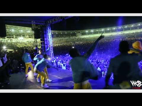 Diamond Platnumz - Live performance at Dar es salaam Taifa Stadium)