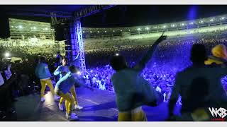 Diamond Platnumz - Live performance at Dar es salaam Taifa Stadium)