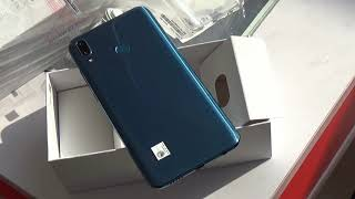 Huawei Y9 2019 Sapphire Blue color