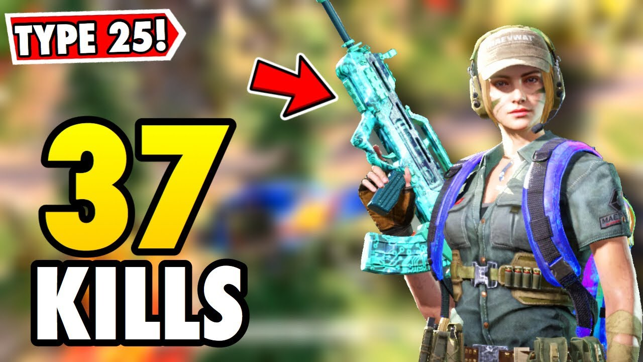 *NEW* TYPE 25 EVIL CHIP GAMEPLAY!   CALL OF DUTY MOBILE BATTLE ROYALE