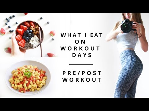 What I Eat In A day Pre and Post Workout Meals Healthy Fitness Meals Build Lean Muscle